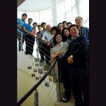 2014拜訪彭懷冰牧師師母